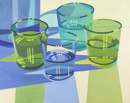 Laura Barr, BA, Tufts University '78, BFA, SMFA '80, Water Glass 3
