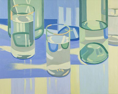 Laura Barr, BA, Tufts University '78, BFA, SMFA '80, Water Glass 5
