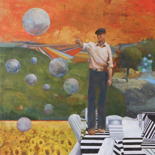 Michael Wilson, Studio diploma '87, 5th Year '88, The Seeker