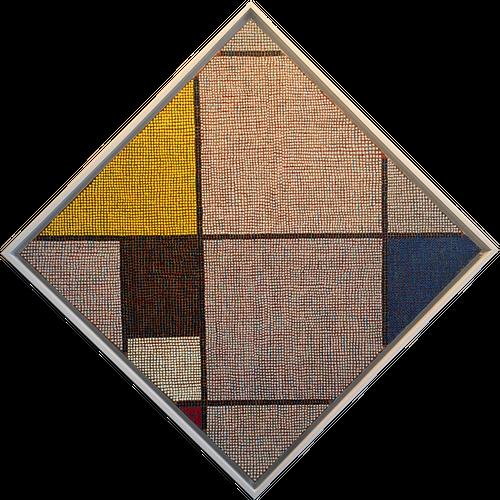 Tom Stocker, attended '66 - Homage to Mondrian #11 *