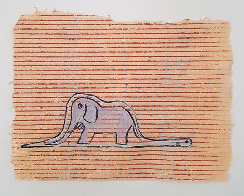 Kiara Reagan, Boa Constrictor Digesting an Elephant 2