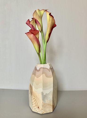 Elizabeth Amento, MFA '09, River Rock Bud Vase