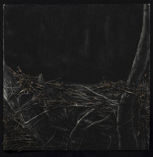 Kristen Lowe, MFA '91, Nocturne in Black and Gold