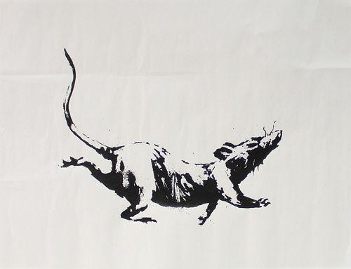 Banksy - Rat