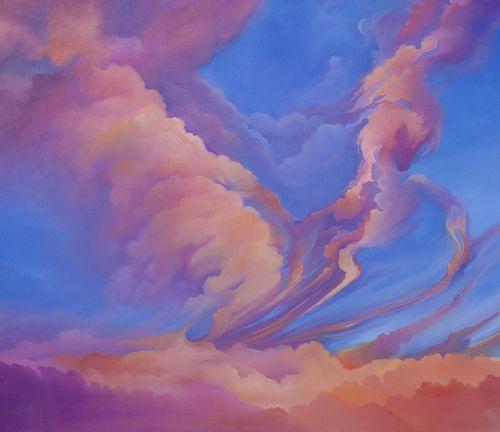 Katrina Majkut, MFA, Post Bac '13, Sunset Clouds