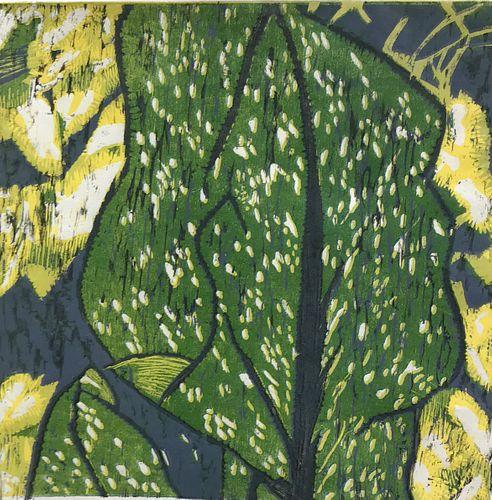 Catherine Garnett, Diploma '16 - Yellow Calla Lily
