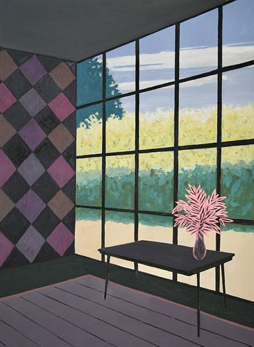 Billy Evans, BFA '77, Room with a View *