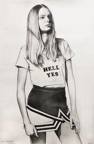 Tara Lewis, MAT '95, Hell Yes Cheerleader
