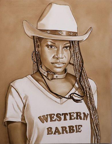 Tara Lewis, MAT '95 - Western Barbie *