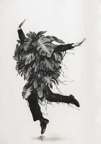 Gonzalo Fuenmayor, MFA '04, Botanical Improvisations #8