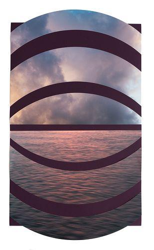 Alysia Macaulay - Aubergine Sea and Sky