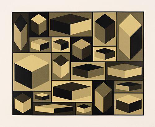 Sol LeWitt, Distorted Cubes (A)
