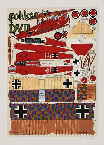 Malcolm Morley, Fokker DVII
