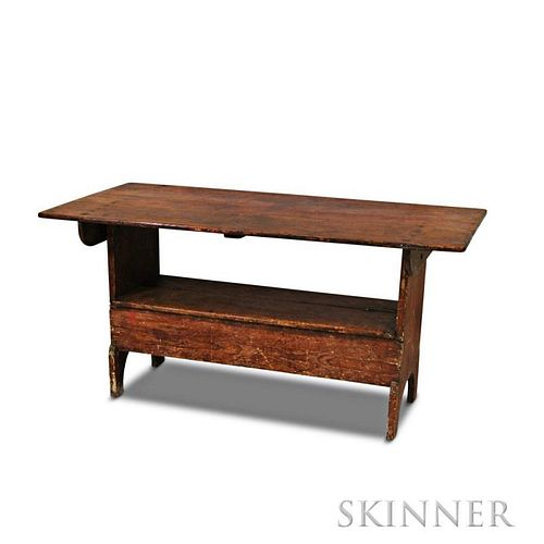 Pine Hutch Table