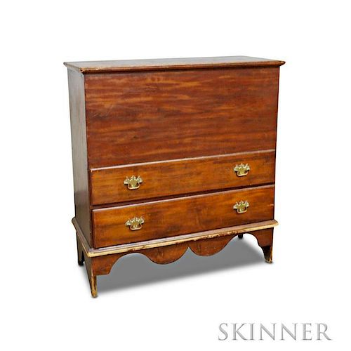 Pine Two-drawer Blanket Chest
