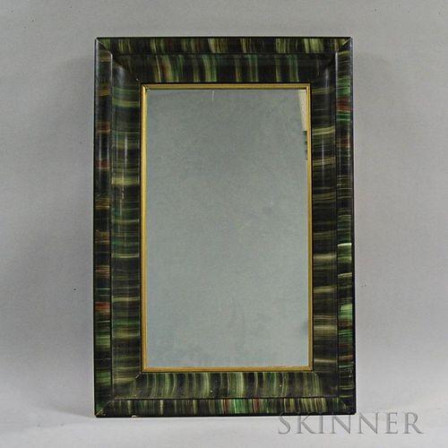 Green Grain-painted Mirror