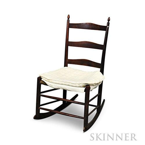 """Shaker Production """"No. 3"""" Rocking Chair"""