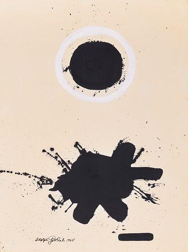 ADOLPH GOTTLIEB, (American, 1903-1974), Untitled, 1965