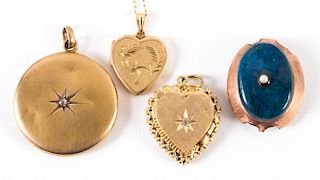 A Collection of Lockets and a Slide