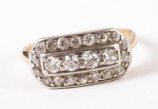 A Lady's Vintage Diamond Band
