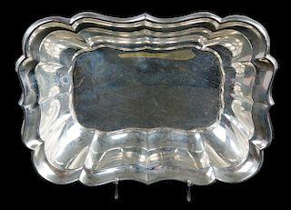"Reed & Barton ""Windsor"" sterling rectangular bowl"