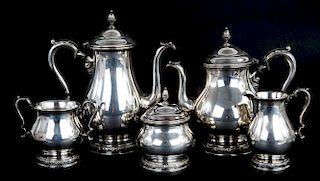 "International ""Prelude"" sterling coffee/tea set"