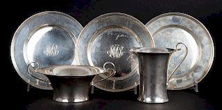 Stieff sterling silver bread & butter plates