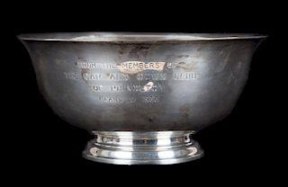 Kirk sterling silver Revere bowl