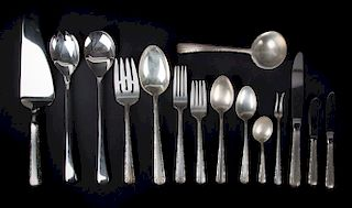"""Towle """"Candlelight"""" sterling partial flatware"""