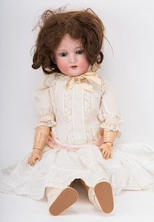 Armand Marseille bisque and composition doll