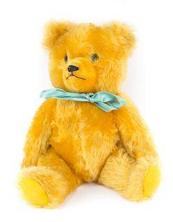 Mohair jointed teddy bear