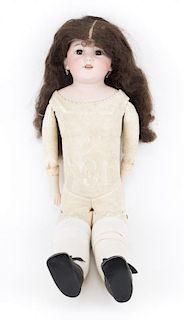 Simon Halbig bisque and kid body doll
