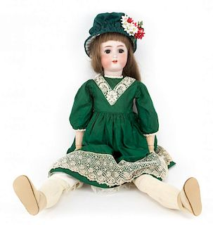 Alt & Beck bisque and composition doll