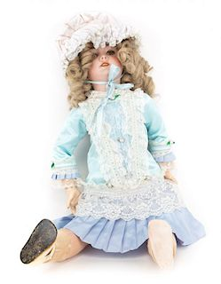 S.F.B.J. bisque and composition doll