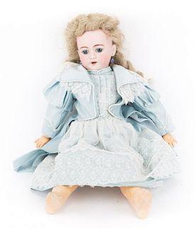 Heinrich & Handwerck bisque & composition doll