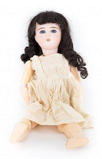 """Louis Prieur """"Mon Cheri"""" bisque & composition doll"""