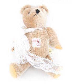 Reuge mohair jointed musical teddy bear