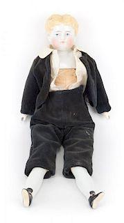 China and cloth doll