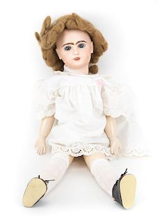 German or French bisque & composition doll