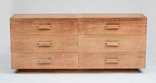 ERNST SCHWADRON (ATTRIBUTION), TWO-PART CHEST OF DRAWERS