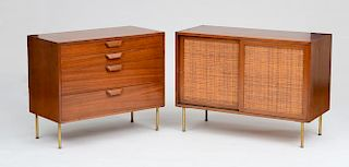 HARVEY PROBBER, CREDENAZA AND CHEST OF DRAWERS