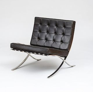 "LUDWIG MIES VAN DER ROHE FOR KNOLL INTERNATIONAL BARCELONA"" CHAIR"""