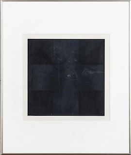 AD REINHARDT (1913-1967): UNTITLED