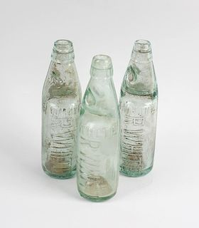 Two boxes containing a large collection of assorted glass bottles To include numerous old 'R White's