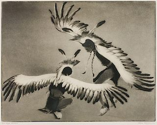 Gene Kloss | 1903 - 1996 NA | Taos Eagle Dancers