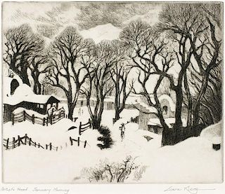 Gene Kloss | 1903 - 1996 NA | January Morning