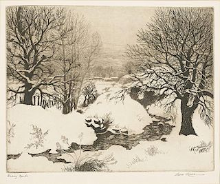 Gene Kloss | 1903 - 1996 NA | Snowy Banks