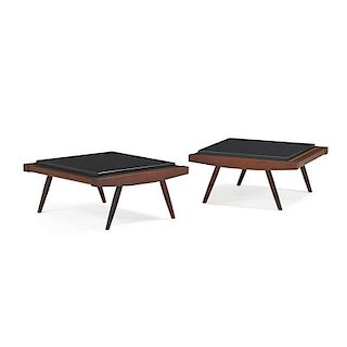 GEORGE NAKASHIMA Pair of low tables