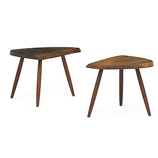 GEORGE NAKASHIMA Two Wepman tables