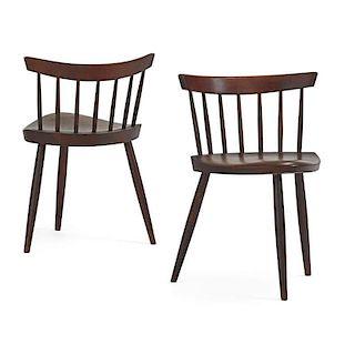 GEORGE NAKASHIMA Pair of Mira chairs